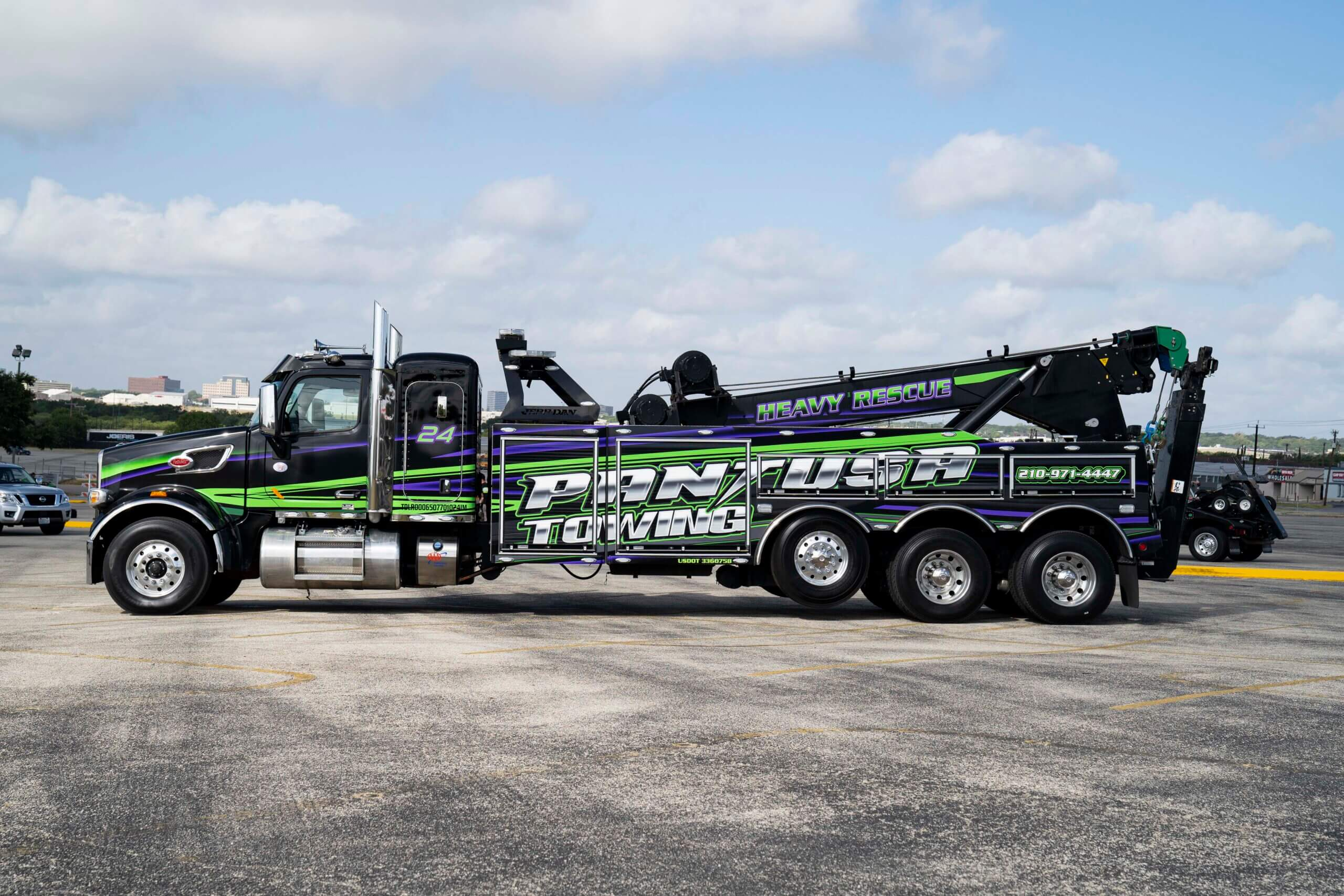 Heavy Duty Towing Atlanta GA