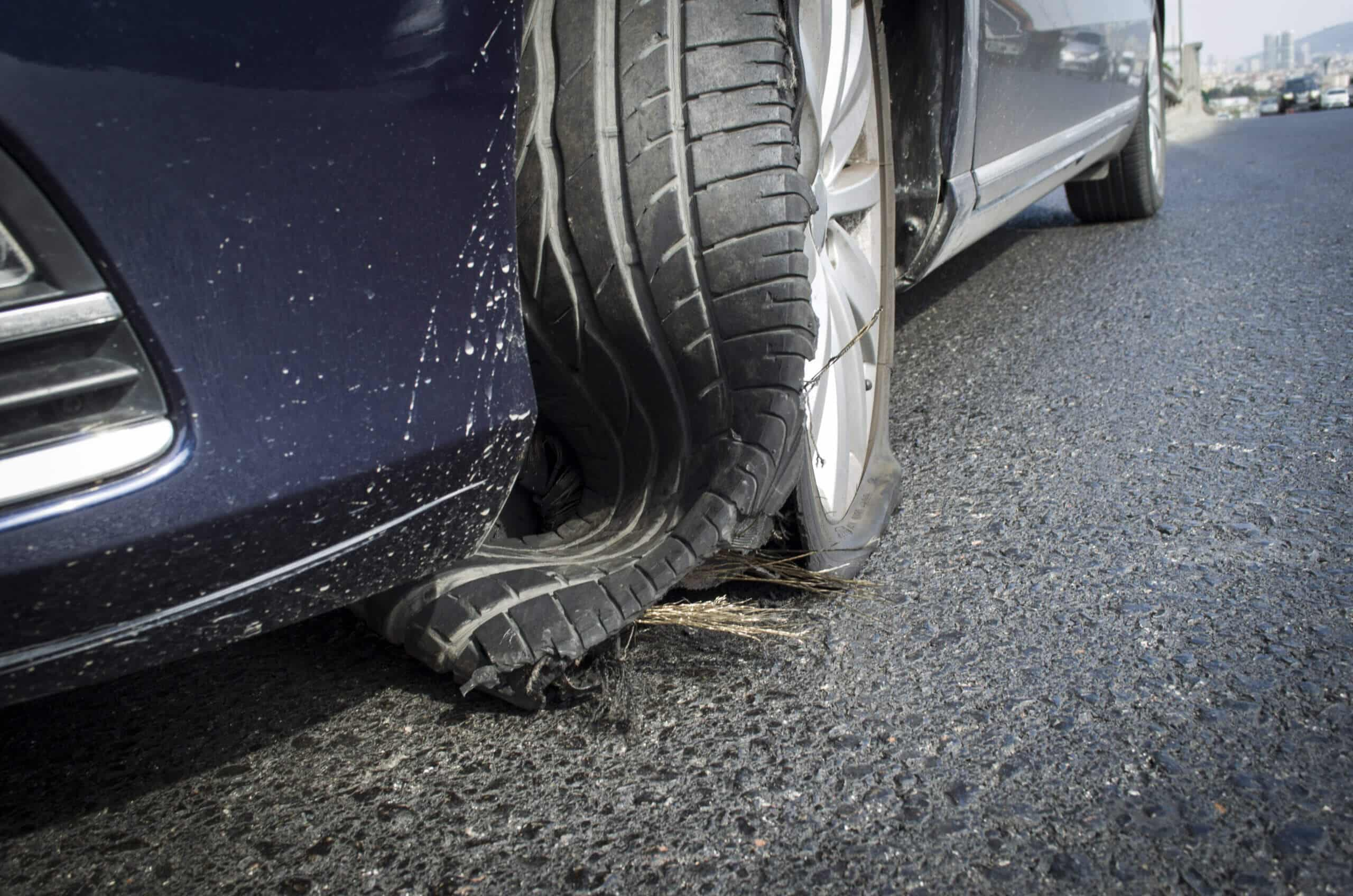 How to Safely Handle Your Vehicle During a Tire Blowout